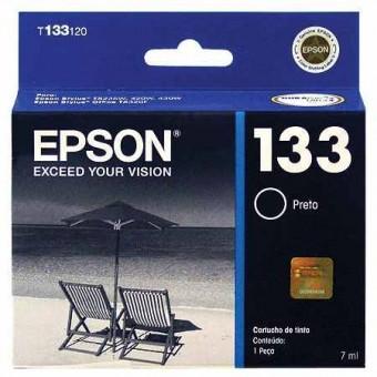 CARTUCHO EPSON 133 PRETO (7ML)