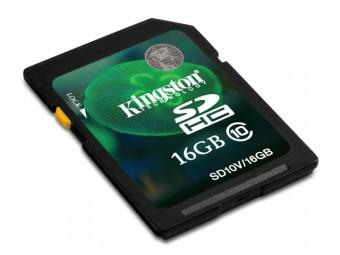 CARTAO DE MEMORIA SD 16GB KINGSTON CLASS 10