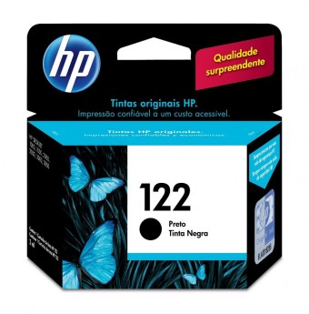 CARTUCHO HP 122 CH561HB PRETO (2ML)