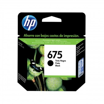 CARTUCHO HP 675XL CN690AL PRETO (13,5ML)