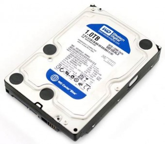 HD SATA 1TERA WESTERN DIGITAL BLUE