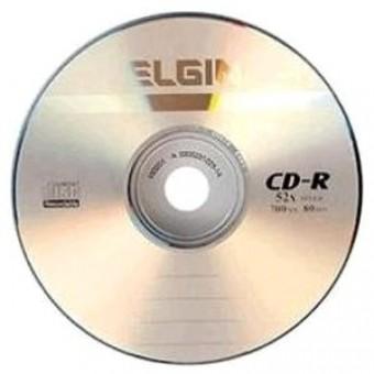 CD-R 700MB 80MINUTOS 52X ELGIN (UNIDADE)