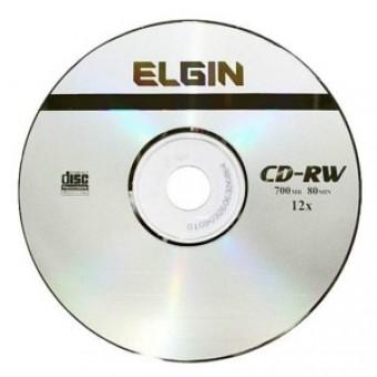 CD-RW 700MB 80MINUTOS 12X ELGIN (UNIDADE)