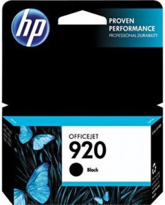 CARTUCHO HP 920 CD971AL PRETO (11ML)
