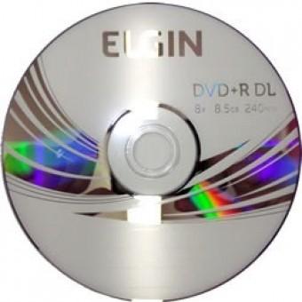 DVD+R 8.5GB 240MINUTOS 8X ELGIN (UNIDADE)