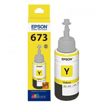 REFIL EPSON 673 T673-420AL AMARELO (70ML)