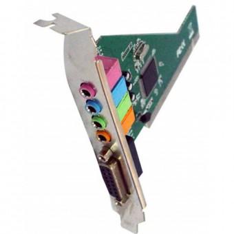 PLACA DE SOM PCI 4 CHANNEL LOTUS SK-CR4280