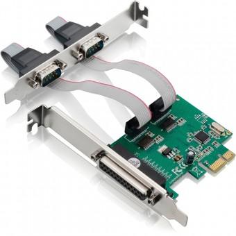 PLACA PCI-EX CONT. 2P SERIAL 1PARALELA MULTILASER GA128