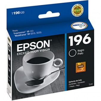 CARTUCHO EPSON 196 PRETO (5ML)