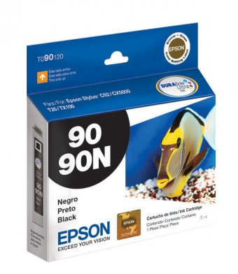 CARTUCHO EPSON 90N PRETO (5ML)
