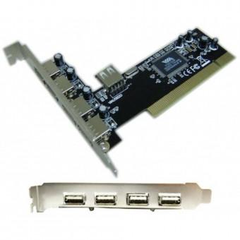 PLACA PCI USB DEX DP-52 4 PORTAS USB 2.0