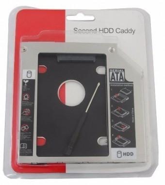 CADDY 12.7 ADAPTADOR DVD P/ HD OU SSD DE NOTEBOOK