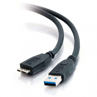CABO MICRO USB 3.0 PLUS CABLE 1.8METROS PRETO