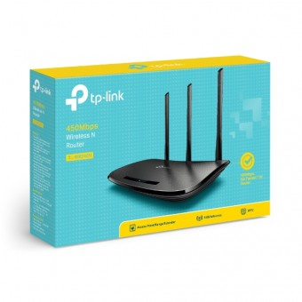 ROTEADOR WIRELESS TP-LINK 450MBPS TL-WR940N (C/ 3 ANTENAS)
