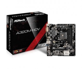 PLACA MAE AM4 ASROCK A320M-HD HDMI