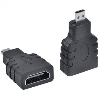 ADAPTADOR HDMI FEMEA P/ MICRO HDMI MACHO VINIK