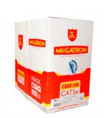 CABO DE REDE MEGATRON CAT 5E AZUL (O METRO)