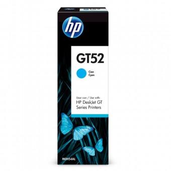 GARRAFA DE TINTA HP GT52 MOH54AL CIANO (70ML)