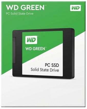 HD SSD 240GB WD GREEN WDS240G2G0A SATA3