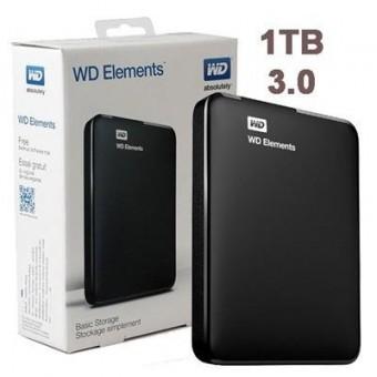 HD EXTERNO 1TERA WESTERN DIGITAL ELEMENTS USB 3.0 PTO