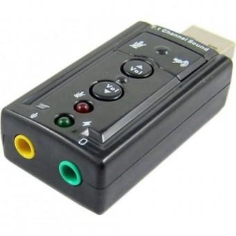 PLACA DE SOM USB 7.1 VIRTUAL IMM