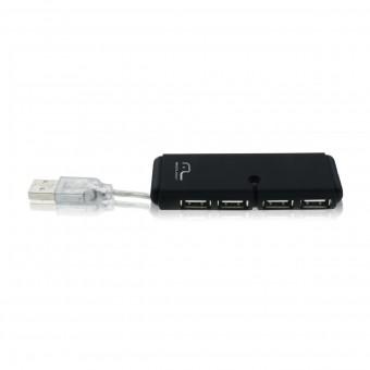HUB USB 2.0 MULTILASER AC064 4 PORTAS