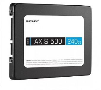 HD SSD 240GB MULTILASER AXIS 500 SS200 SATA3