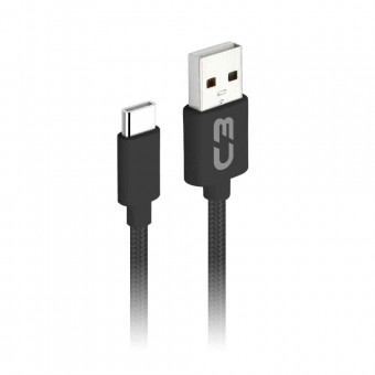 CABO USB TIPO C PLUS CB-C11 1M PRETO