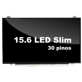 "TELA P/ NOTEBOOK 15.6"" LED SLIM 30 PINOS"