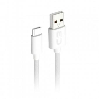 CABO USB TIPO C PLUS CB-C11 1M BRANCO