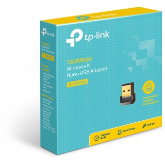 ADAPTADOR USB WIRELESS TP-LINK NANO TL-WN725N 150MBPS