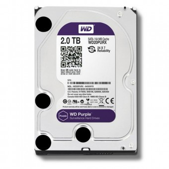 HD SATA 2TERA WESTERN DIGITAL PURPLE