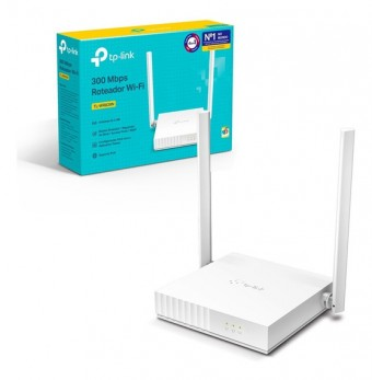 ROTEADOR WIRELESS TP-LINK 300MBPS TL-WR829N (C 2/ ANTENAS)