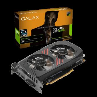 PLACA DE VIDEO PCI-EX GEFORCE GTX 1050TI 4GB 128BITS DDR5 GALAX