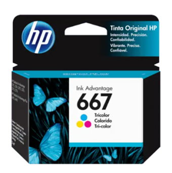 CARTUCHO HP 667 3YM78AL COLOR (2ML)