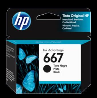 CARTUCHO HP 667 3YM79AL PRETO (2ML)