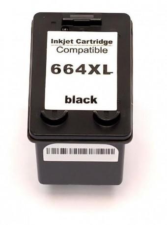 CARTUCHO HP COMPATIVEL 664XL PRETO(14ML) MICROJET
