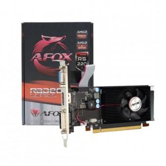 PLACA DE VIDEO PCI-EX RADEON R5 220 1GB 64BITS DDR3 AFOX HDMI/DVI/VGA