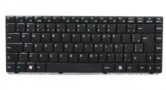 TECLADO P/ NOTEBOOK CCE-POSITIVO UNIQUE MP-09P88PA-F51 / 82R-A14021-4211