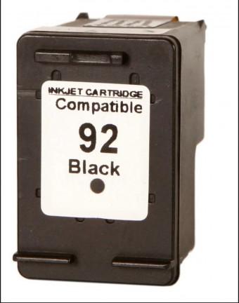 CARTUCHO HP COMPATIVEL 92 PRETO(13ML) MICROJET