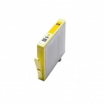 CARTUCHO HP COMPATIVEL 670 AMARELO (14.5ML) POTENCIAL