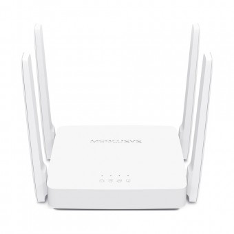 ROTEADOR WIRELESS MERCUSYS 300MBPS 2.4GHZ E 867MBPS 5GHZ AC10 (C 4/ ANTENAS)