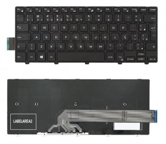 TECLADO P/ NOTEBOOK DELL INSPIRON 14-5452-B03P