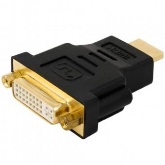 ADAPTADOR DVI FEMEA P/ HDMI MACHO MD9