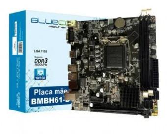 PLACA MAE LGA 1155 BLUECASE BMBH61-D HDMI/VGA