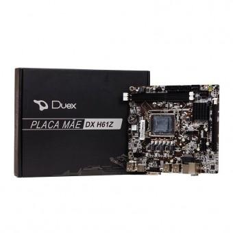 PLACA MAE LGA 1155 DUEX DX H61Z HDMI/VGA