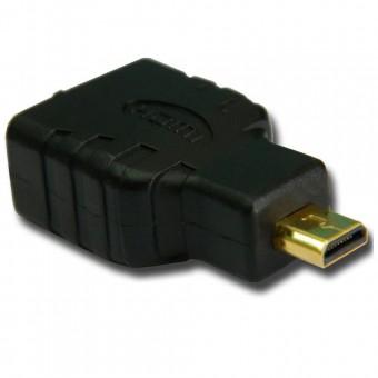 ADAPTADOR HDMI FEMEA P/ MICRO USB MACHO MD9