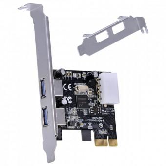 PLACA PCI-EX USB 3.0 C/ 2 PORTAS LOW PROFILE