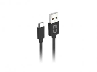 CABO USB TIPO C PLUS CB-C11BKX 1M PRETO