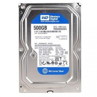 HD SATA 500GB WESTERN DIGITAL BLUE 7200RPM